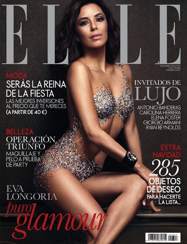 Cover Girl: Eva Longoria Elle Spain