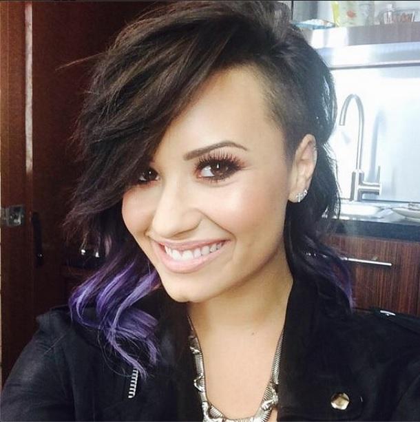 Demi-Lovato-Short-Hair-Instagram