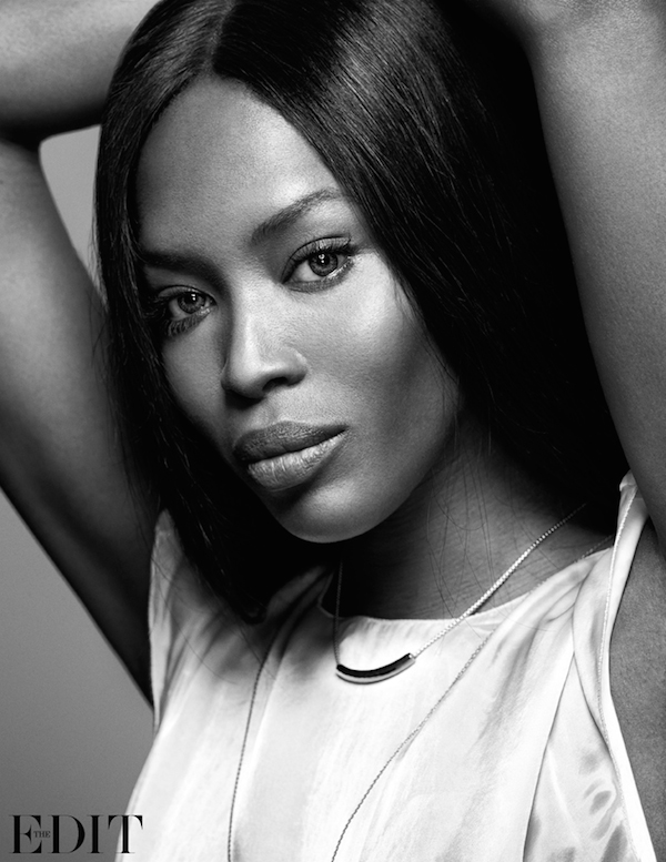 CoverGirl: Naomi Campbell By Nico For Net-A-Porter's The Edit