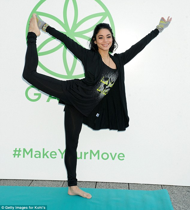 Yoga, Kohls and Vanessa Hudgens