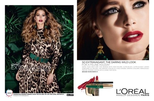 Doutzen-Kroes-Loreal-Paris-Holiday-2015-Makeup-Ads03