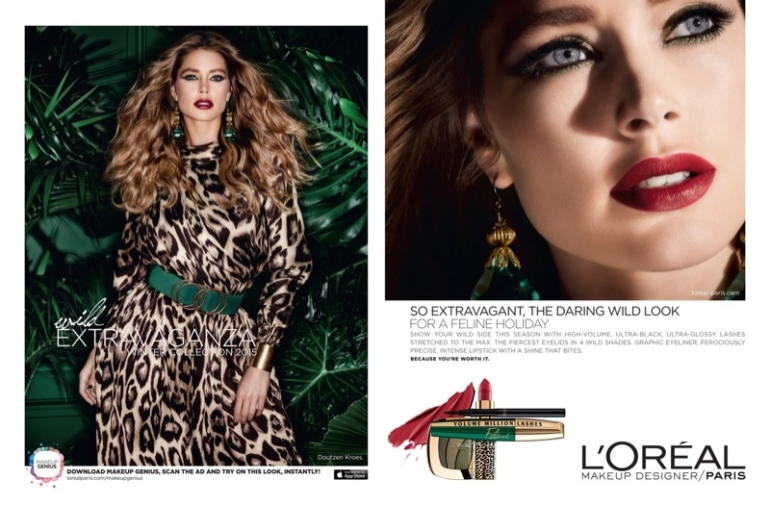 Doutzen-Kroes-Loreal-Paris-Holiday-2015-Makeup-Ads03