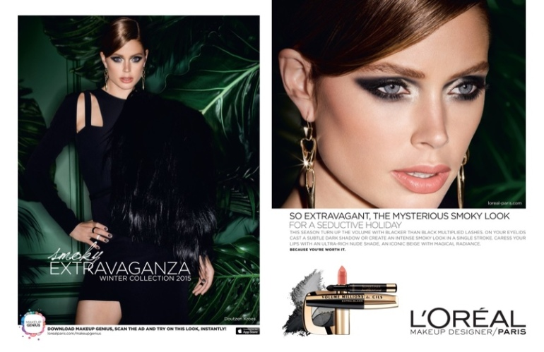 Doutzen-Kroes-Loreal-Paris-Holiday-2015-Makeup-Ads04