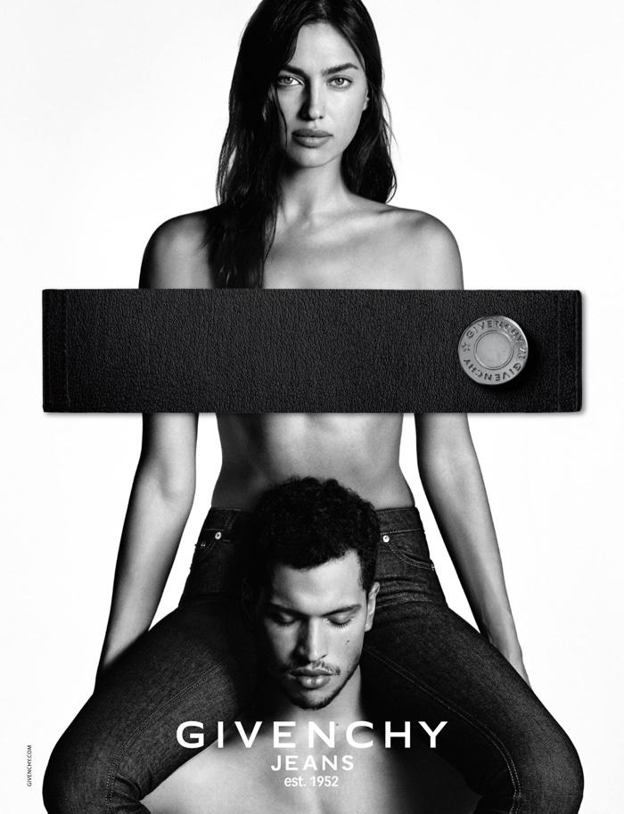 Irina-Shayk-Topless-Givenchy-Jeans-Campaign01