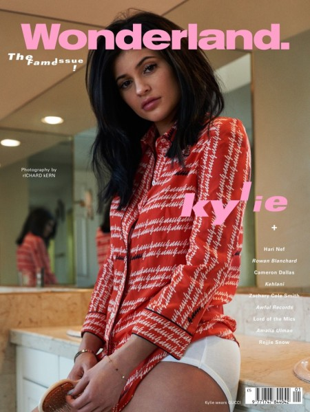 Kylie-Jenner-Wonderland-Magazine-March-2016-Cover-Photoshoot01-450x599
