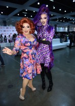 Drag Queen Personaes during the RuPaul DragCon 2016, held at the Los Angeles Convention Center in Los Angeles, California, Saturday, May 7, 2016. Photo by Jennifer Graylock-Graylock.com 917-519-7666