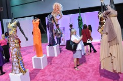 RuPaul Gowns on display during the RuPaul DragCon 2016, held at the Los Angeles Convention Center in Los Angeles, California, Saturday, May 7, 2016. Photo by Jennifer Graylock-Graylock.com 917-519-7666
