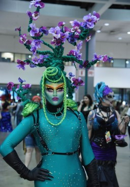 Loris Queen during the RuPaul DragCon 2016, held at the Los Angeles Convention Center in Los Angeles, California, Saturday, May 7, 2016. Photo by Jennifer Graylock-Graylock.com 917-519-7666