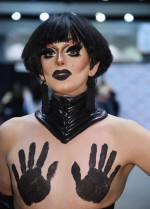 Coco St.James during the RuPaul DragCon 2016, held at the Los Angeles Convention Center in Los Angeles, California, Saturday, May 7, 2016. Photo by Jennifer Graylock-Graylock.com 917-519-7666